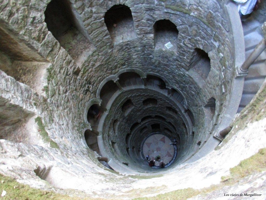 Pozo iniciático de la Quinta da Regaleira en Sintra - Los viajes de Margalliver